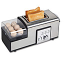 ieftine Electrocasnice-Brutar Multifuncțional Teak Prăjitoare de pâine 220-240 V 850 W Tehnica de bucătărie