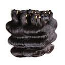 tanie Akcesoria do tańca-Włosy brazylijskie Body wave Włosy naturalne Fale w naturalnym kolorze Ludzkie włosy wyplata Ludzkich włosów rozszerzeniach