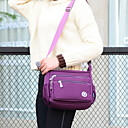 cheap Shoulder Bags-Women's Bags Nylon Crossbody Bag Solid Colored Rose / Deep Blue / Violet
