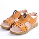 ieftine Pantofi Băieți-Băieți Pantofi Piele Primăvară / Toamnă Confortabili Sandale pentru Negru / Galben / Maro