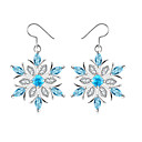 cheap Earrings-Women's Synthetic Sapphire Drop Earrings - Snowflake Simple, Fashion, Elegant Light Blue For Wedding Party