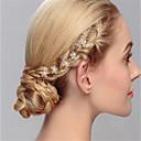 tanie Imprezowe nakrycia głowy-Kryształ Szpilka do włosów z Kryształki Ślub / Specjalne okazje Winieta