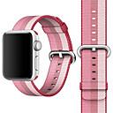 baratos Sandálias Femininas-Pulseiras de Relógio para Apple Watch Series 4/3/2/1 Apple Fecho Clássico Náilon Tira de Pulso