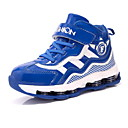זול החלפה חכמה-בנים נעליים עור פטנט סתיו נוחות נעלי אתלטיקה ריצה ל שחור / אדום / כחול