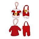 cheap Christmas Decorations-1pc Santa Stocking Holders Holiday, Holiday Decorations Holiday Ornaments