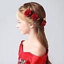 ieftine Accesorii Păr de Petrecerere-Adunat Pini de păr cu Floral 1 buc Nuntă / Party / Seara Diadema