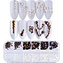 baratos Strass & Decorações-1 pcs Purpurina Jóias de Unhas Strass Cristal / Luxo / Design Moderno arte de unha Manicure e pedicure Festa / Noite / Festa de Noite / Praticar Elegante & Luxuoso / Brilho & Glitter / Jóias de unha
