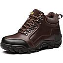 baratos Oxfords Masculinos-Homens Sapatos Confortáveis Couro Outono / Inverno Tênis Aventura Preto / Café / Festas & Noite / Festas & Noite