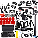 cheap Accessories For GoPro-Sports Action Camera / Kit Outdoor / Retractable Cable / All-In-1 For Action Camera Gopro 6 / All Action Camera / All Gopro Camping /