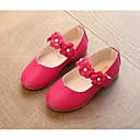 olcso Kislány cipők-Lány Cipő PU Tavasz / Ősz Kényelmes / Katonai csizmák Lapos Gyalogló Rátétek / Csat mert Fekete / Fukszia / Rózsaszín