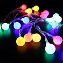 billige LED-stringlys-BRELONG® 4m Lysslynger 28 LED Dip Led RGB + Hvit Dekorativ 220-240 V 1pc