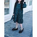 رخيصةأون فساتين البنات-فستان كم طويل ورد كاجوال / يومي بسيط فتيات طفل صغير
