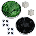 cheap Magnet Toys-2 pcs Magnet Toy Magnetic Putty Building Blocks Puzzle Cube Magnetic DIY Magnetic Type Stress and Anxiety Relief Office Desk Toys Novelty Eyes Kid's / Adults' Boys' Girls' Toy Gift