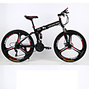 ieftine Electronice & Calculatoare de Bicicletă-Bicicletă montană / Biciclete pliante Ciclism 21 Speed 26 inch / 700CC Shimano Frână Pe Disc Furculiță suspensie Suspensii Spate Comun Aliaj din aluminiu / Oțel