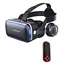 preiswerte VR-Brille-Vr Headset Shinecon 6.0 Pro Stereo Virtual Reality Smartphone 3D Brille Box Vr Headset mit Controller für Android