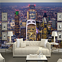 cheap Rolled Canvas Prints-Art Deco Pattern 3D Home Decoration Contemporary Rustic Modern Wall Covering, Canvas Material Adhesive required Mural, Room Wallcovering