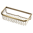 cheap Bathroom Shelves-Bathroom Shelf High Quality Antique Brass 1 pc - Hotel bath