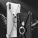 abordables Fundas para Teléfono & Protectores de Pantalla-Funda Para iPhone 7 / iPhone 7 Plus / Apple iPhone X / iPhone 8 Antigolpes / con Soporte / Soporte para Anillo Marco Antigolpes Un Color Dura Metal para iPhone X / iPhone 8 Plus / iPhone 8
