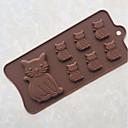 billige Bakeredskap-Bakeware verktøy Silikon Gummi / silica Gel baking Tool / Non-Stick / GDS Brød / Is / Til Sjokolade Cake Moulds 1pc