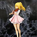 hesapli Anime Aksiyon Figürleri-Anime Aksiyon figürleri Esinlenen Nisan ayında Sizin Yalan Kaori Miyazono PVC CM Model Oyuncaklar Oyuncak bebek Unisex