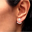 cheap Jewelry Sets-Women's Stud Earrings Front Back / Ear Jacket - Ladies Simple Vintage Fashion Jewelry Gold / Silver For Daily Work