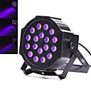 tanie Oświetlenie sceniczne-U'King Oświetlenie LED sceniczne DMX 512 Master-Slave Aktywowana Dźwiękiem Pilot zdalnego sterowania 18 na Klub Impreza Obuwie turystyczne