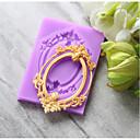 זול אפייה-כלי Bakeware ג'ל סיליקה חג / יום הולדת / לשנה החדשה לממתקים עגול עוגות Moulds 1pc