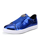 cheap Men's Sneakers-Men's Fashion Boots Tulle Spring / Fall Sneakers Breathability Black / Silver / Blue