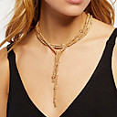 cheap Necklaces-Women's Chain Necklace - Gold, Silver Necklace For Daily, Street