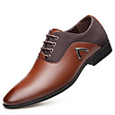 cheap Men's Oxfords-Men's Oxford Spring / Fall Comfort Oxfords Black / Light Brown / Dark Brown / Party & Evening