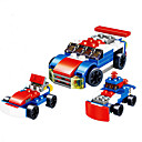 cheap Building Blocks-Building Blocks Vehicles / Military / Race Car Parent-Child Interaction / Hand-made / DIY Anime Girls' Gift