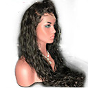 cheap Human Hair Wigs-Human Hair Glueless Lace Front / Lace Front Wig Brazilian Hair Natural Wave Wig With Baby Hair 130% Natural Hairline / African American Wig / 100% Virgin Short / Medium Length / Long Human Hair Lace