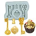 billige Bakeredskap-Bakeware verktøy silica Gel Non-Stick / baking Tool / 3D Til Småkake / Sjokolade / For kjøkkenutstyr Cake Moulds 1pc