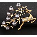 זול סטים של תכשיטים-בגדי ריקוד נשים תפס לשיער - חיה אופנתי סִכָּה זהב / כסף עבור Party / טקס