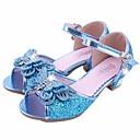 baratos Acessórios de Cabelo-Para Meninas Sapatos Glitter / Couro Ecológico Primavera / Outono Conforto / Sapatos para Daminhas de Honra / Salto minúsculos para