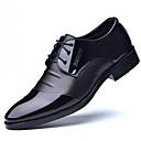 hesapli Tablolar-Erkek Ayakkabı Yapay Deri Bahar / Yaz Biçimsel Ayakkabı / Dalış Ayakkabıları Oxford Modeli Günlük / Ofis ve Kariyer için Drape Siyah /