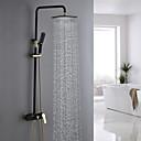 cheap Shower Faucets-Shower Faucet - Antique Ti-PVD Shower System Ceramic Valve