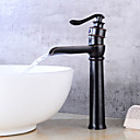 cheap Pendant Lights-Bathroom Sink Faucet - Waterfall Oil-rubbed Bronze Centerset Single Handle One Hole