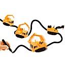 זול פאזלים3D-מכונית אינדוקטיבית קסומה מכוניות צעצוע משאית רכב בנייה צעצועים מכונית עיצוב מיוחד חיישן אור אינטראקציה בין הורים לילד פלסטיק רך 1pcs