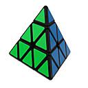 baratos Blocos de Montar-Rubik's Cube QI YI Pyramid Cubo Macio de Velocidade Cubos mágicos Cubo Mágico Adesivo Liso Dom Unisexo