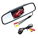 cheap Car Organizers-ZIQIAO 4.3 Inch Digital TFT LCD Mirror Monitor and CCD HD Car Rear View Camera