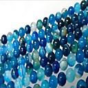 זול חרוזים-תכשיטים DIY 46 יח חרוזים ברקת כחול עגול חָרוּז 0.8 cm עשה זאת בעצמך שרשראות צמידים