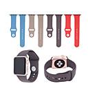 billige Smartklokke Tilbehør-Klokkerem til Apple Watch Series 3 / 2 / 1 Apple Moderne spenne Silikon Håndleddsrem