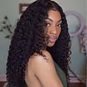 olcso Emberi hajból készült parókák-Emberi haj 360 Frontális Paróka Perui haj Göndör Hullám Paróka Oldalrész Copf 180% Haj denzitás baba hajjal Természetes hajszálvonal Pre-kopasztott Női Rövid Közepes Hosszú Emberi hajból készült