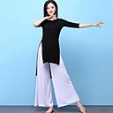 tanie Stroje do tańca brzucha-Taniec brzucha Outfits Damskie Szkolenie Modalny Rozporek Rękaw 1/2 Wysoki Top Spodnie
