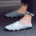 halpa Miesten clog-kengät-Miesten kengät PU Kevät / Syksy Comfort Puukengät Musta / Beesi / Sininen