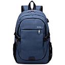 זול Intermediate School Bags-בגדי ריקוד גברים שקיות ניילון תרמיל רוכסן כחול כהה / אפור / סגול