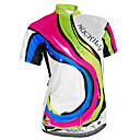 cheap Cycling Jerseys-Nuckily Women's Short Sleeve Cycling Jersey Camouflage Bike Jersey Top Breathable Ultraviolet Resistant Reflective Strips Sports Polyester Lycra Mountain Bike MTB Road Bike Cycling Clothing Apparel