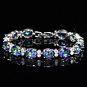 preiswerte Damen Stiefel-Damen Synthetischer Diamant Armband - versilbert Armbänder Silber Für Hochzeit Party