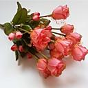 halpa Naisten korut-Keinotekoinen Flowers 1 haara Pastoraali Tyyli Morsiusharso Pöytäkukka